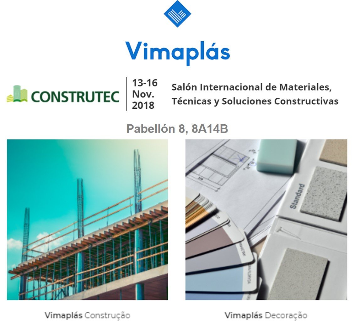 Construtec 2018, Madrid with Vimaplás solutions