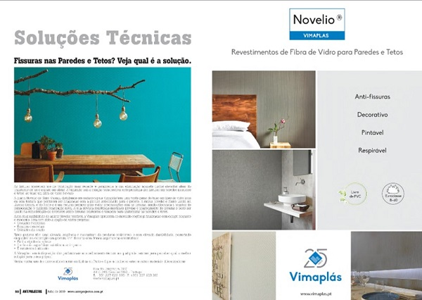 Vimaplás at Technical Solutions from ANTEPROJECTOS magazine